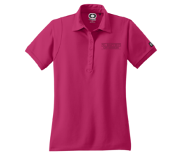 NC Baptists on Mission Ladies Performance Polo Pink Crush